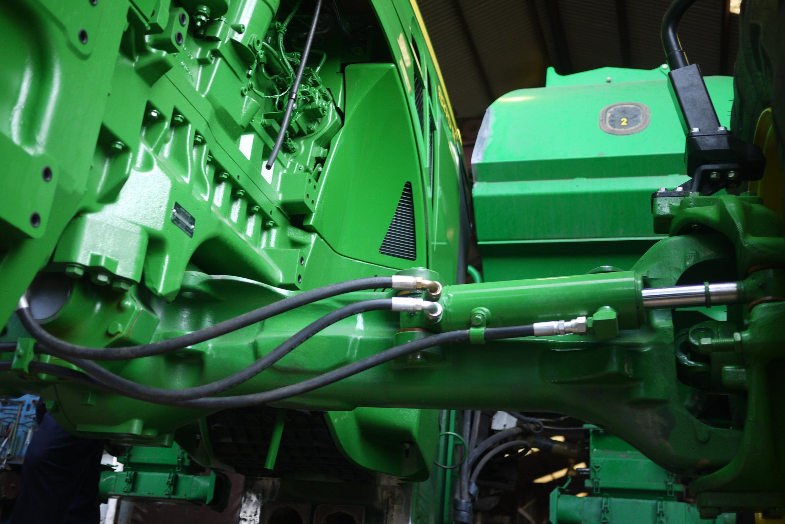 John Deere Axle Extension