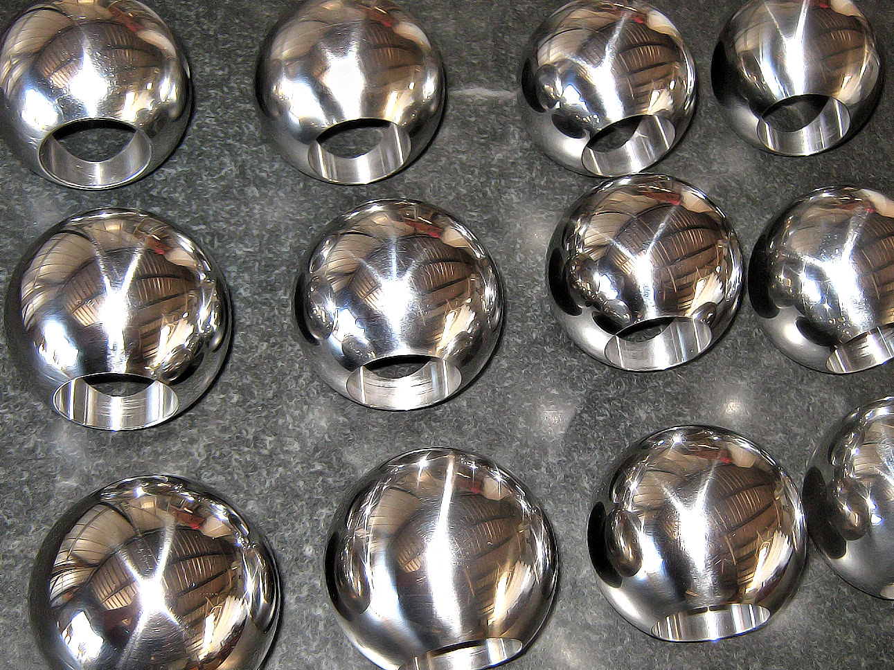 CNC stainless steel valves