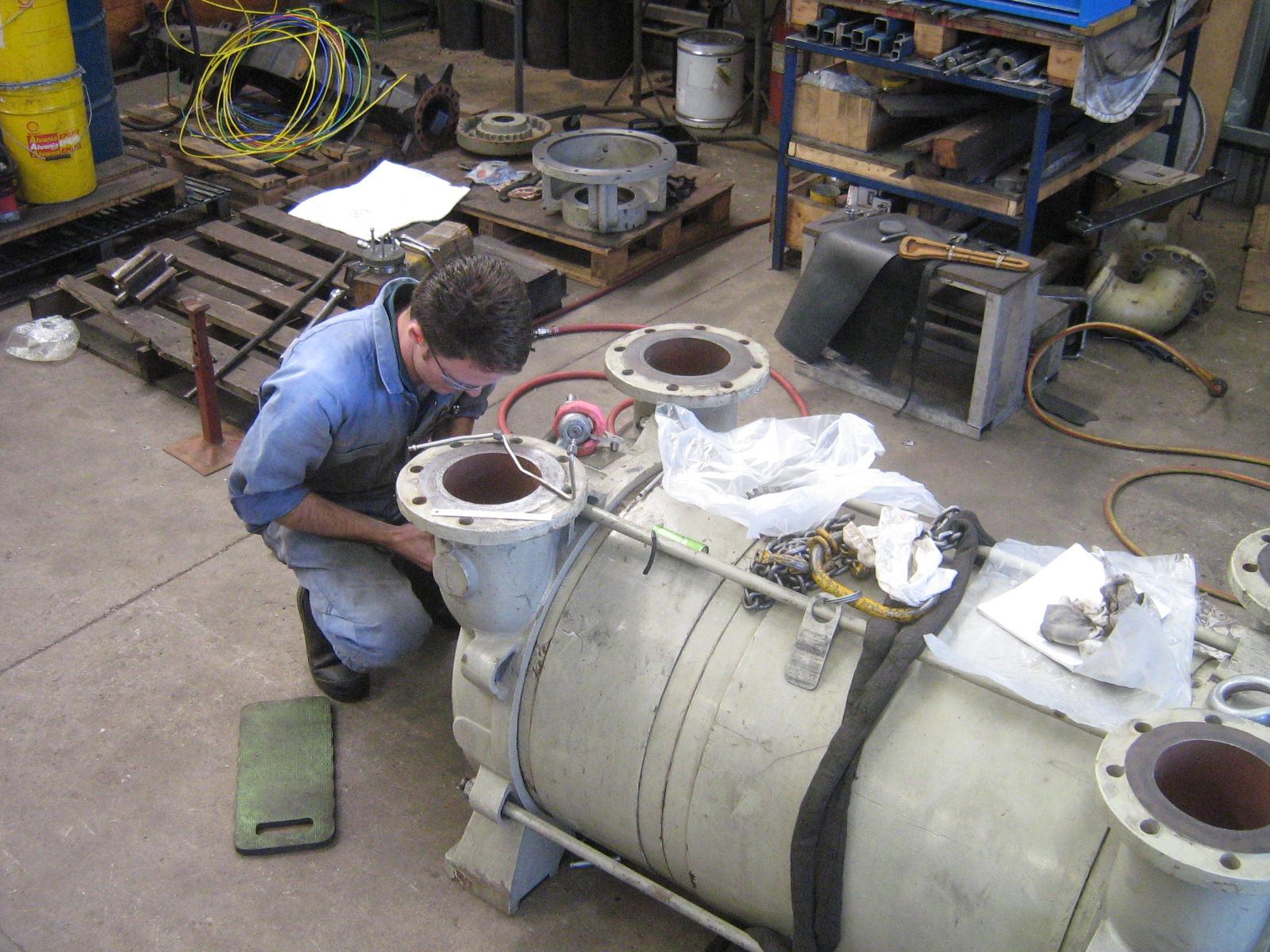 Large Pump Rebuilds