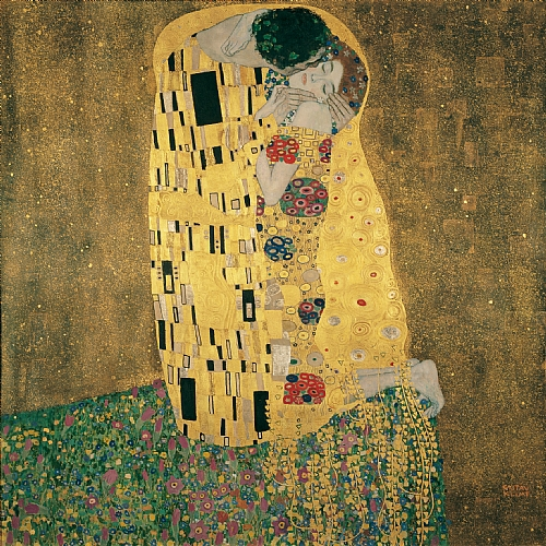 The Kiss, 1907-1908