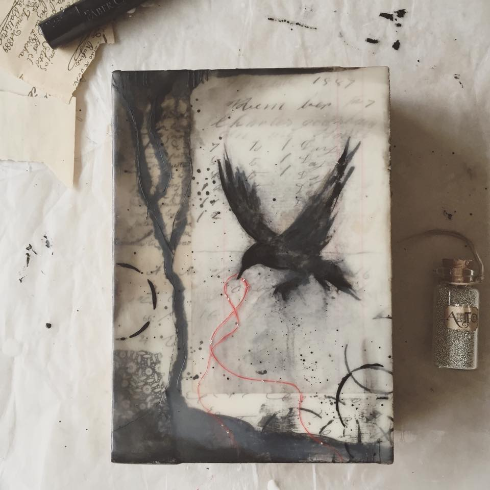 Ink and Wax creation