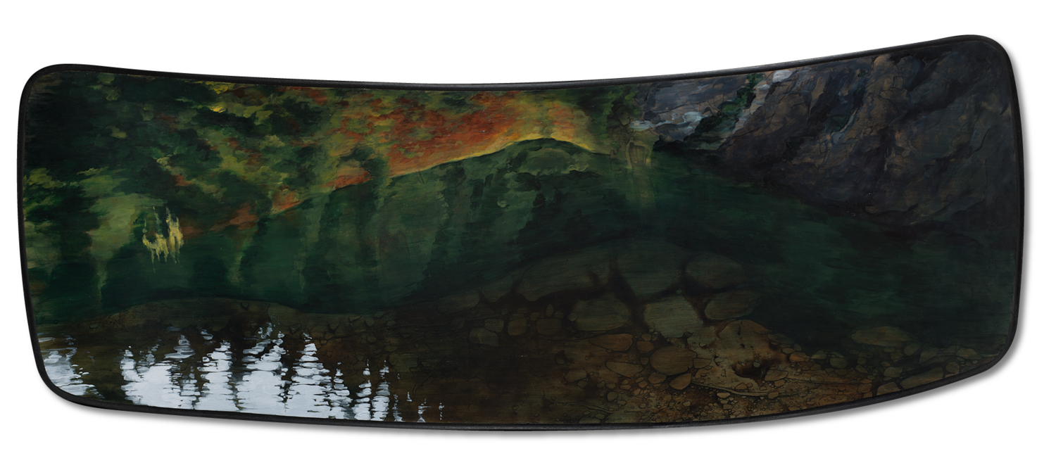 "A Place With No Name | 59"" x 22"" 