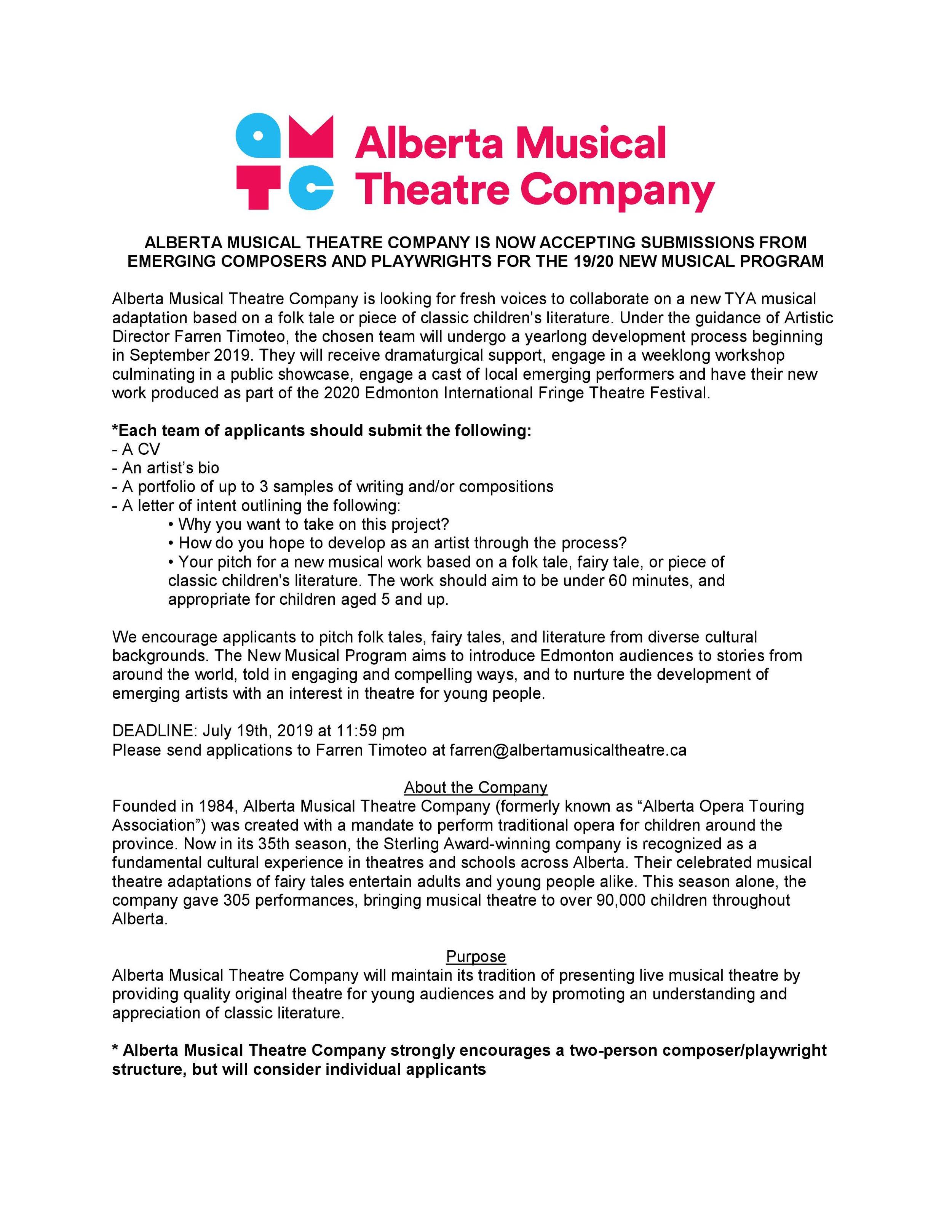 Alberta Opera's Hansel and Gretel
