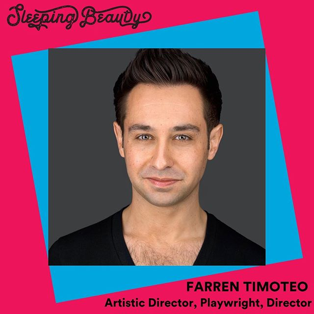 Two weeks to the opening of Sleeping Beauty! It's time to meet the team!  Farren Timoteo is an actor, writer, and director from Edmonton. He became Artistic Director of AMTC in 2006, and has since written and directed several productions for the company.  To learn more about Farren, visit our website!  Tickets to #sleepingbeauty are on sale now. Link in bio!  #yegtheatre #yegtya #theatreforyoungaudiences