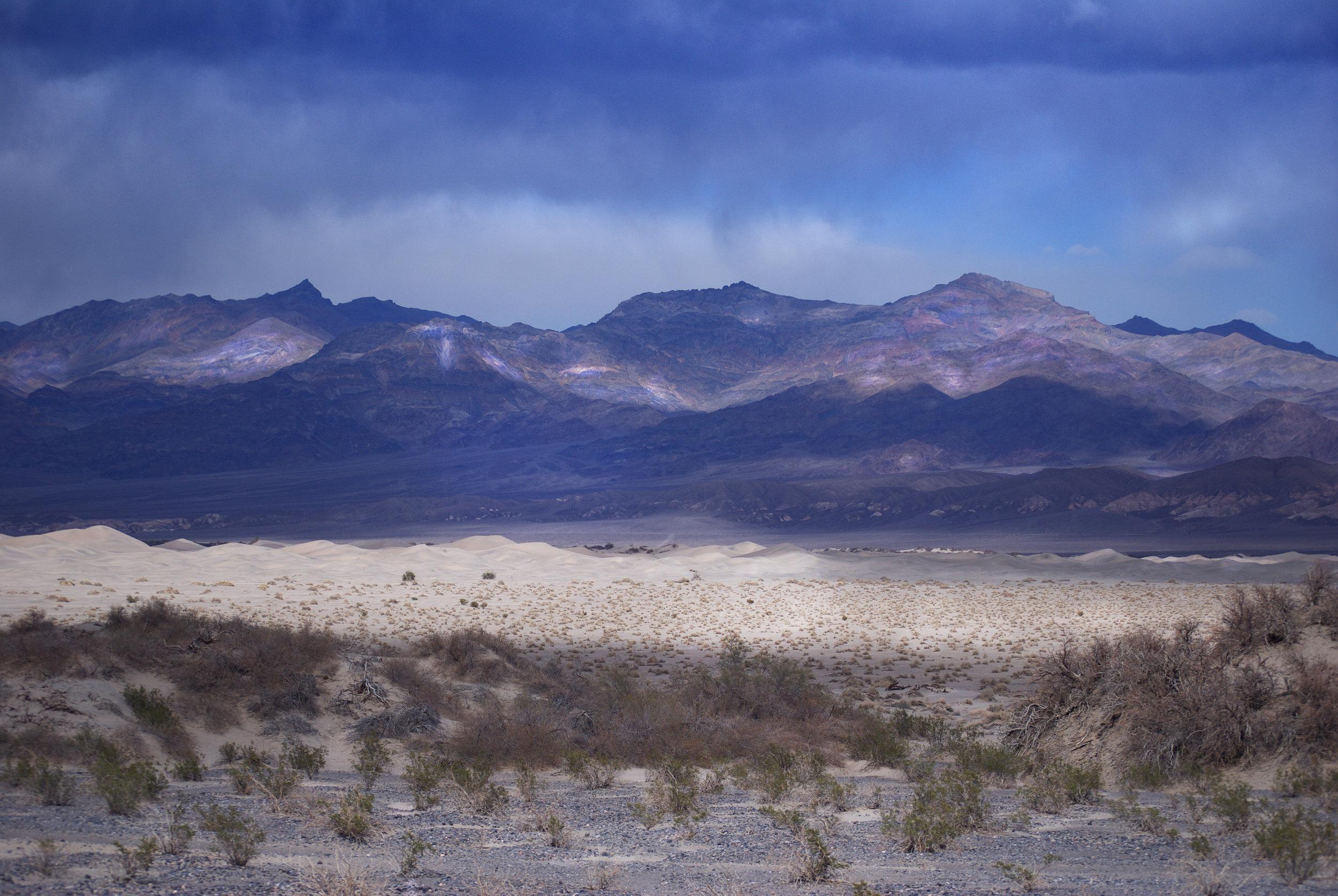 Death Valley Mesquite Flat Dunes