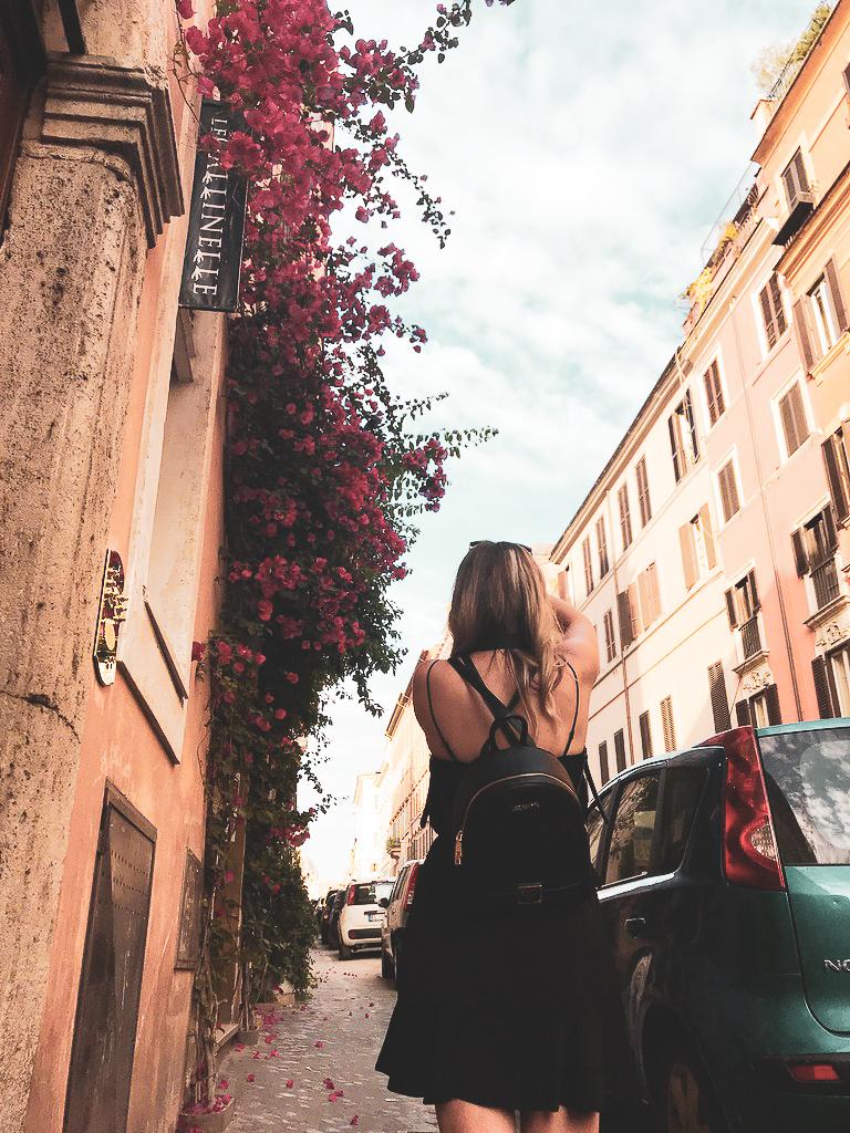 Rome, Self Portrait