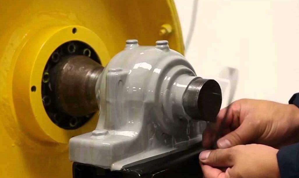 TM198 påført roterende maskineri.