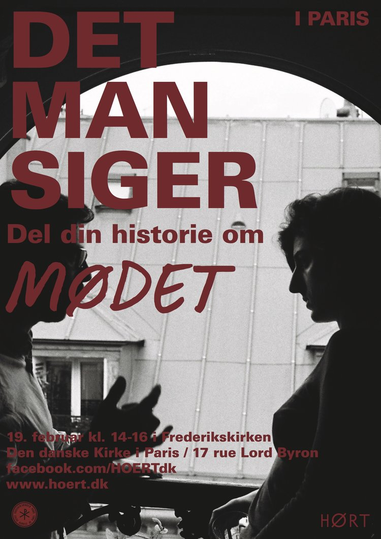 DET MAN SIGER - MØDET