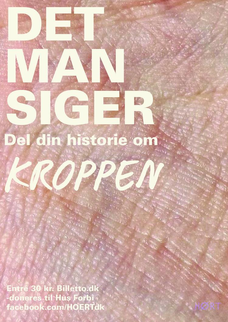 DET MAN SIGER - KROPPEN