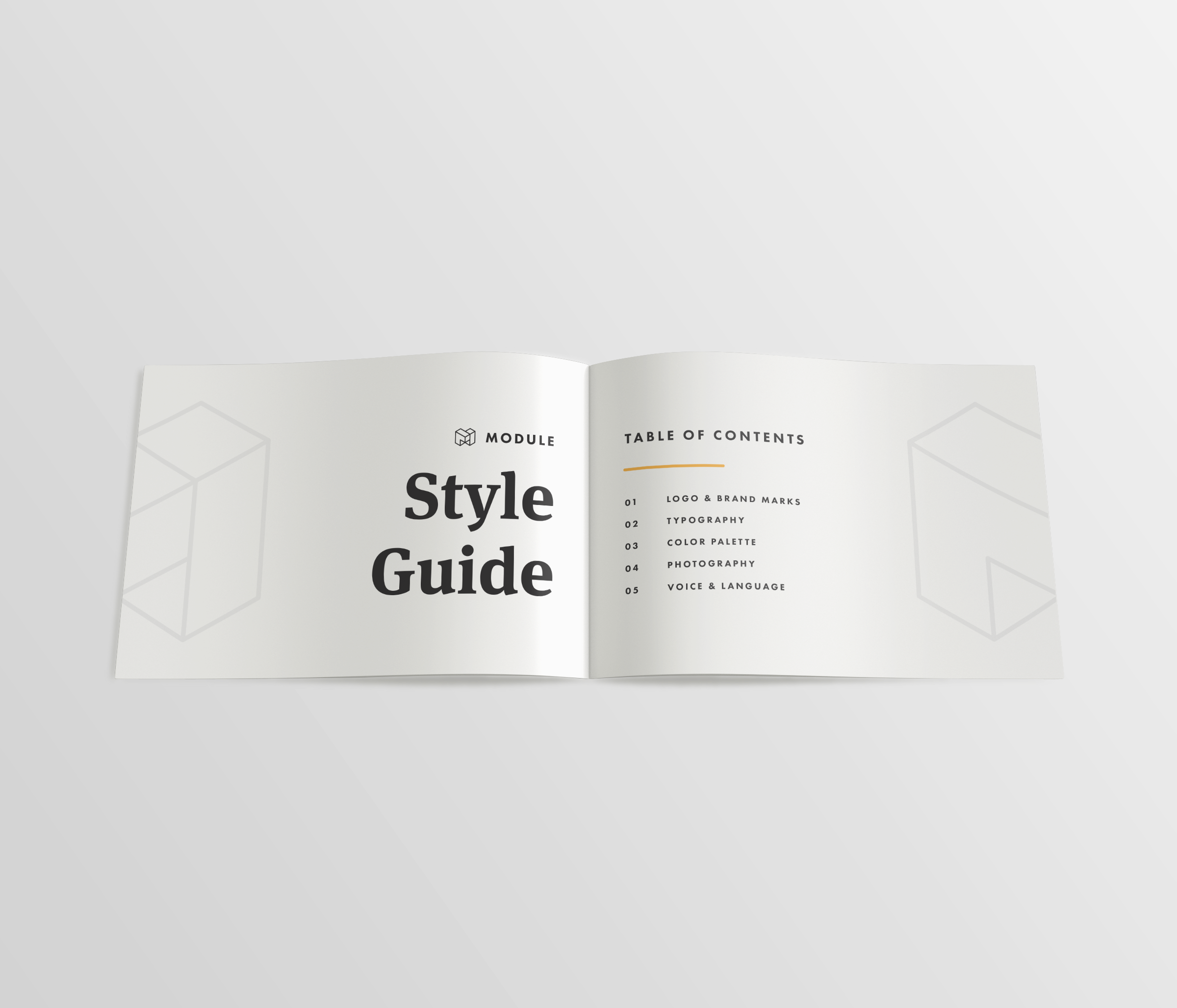 Branding Guidelines — Table of Contents