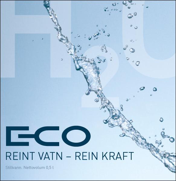 E-CO Energi  Flaskeetikett