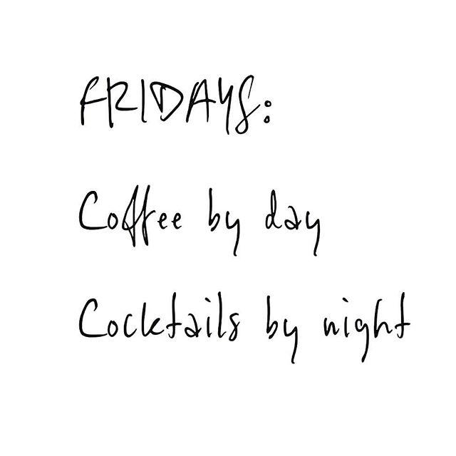 👌 #friday #friyay #weekend #cocktail #coffee  RG: @gabrielcoffee