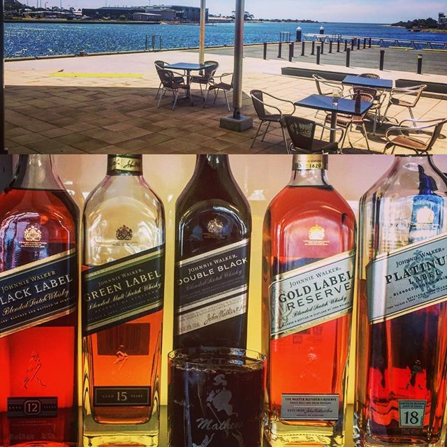 What a day! #summer may just about be upon us. A great day to enjoy a #drink from our extensive #bar options. Our old favourite #johnniewalker keeps on walking today. #cocktails on tap, over 100 #wines what better way to spend a #friday after work #sun #friends #drinks #food #tasmania