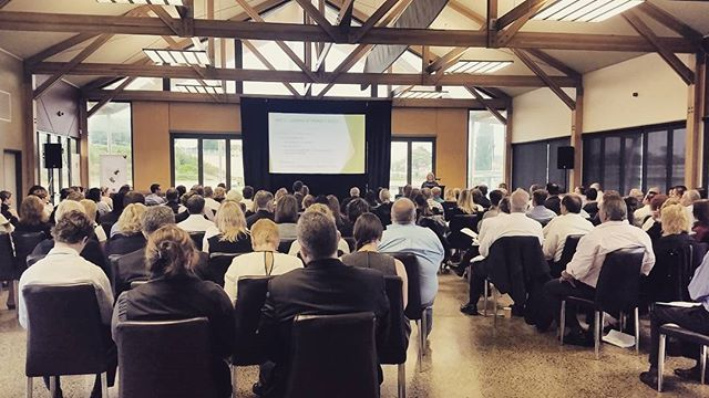 A shot from yesterday's event for the Real Estate Institute of Tasmania in the Gnomom Pavilion. 170 happily fed and informed industry professionals #tasmania #events #tasevents #realestate #professionals #catering