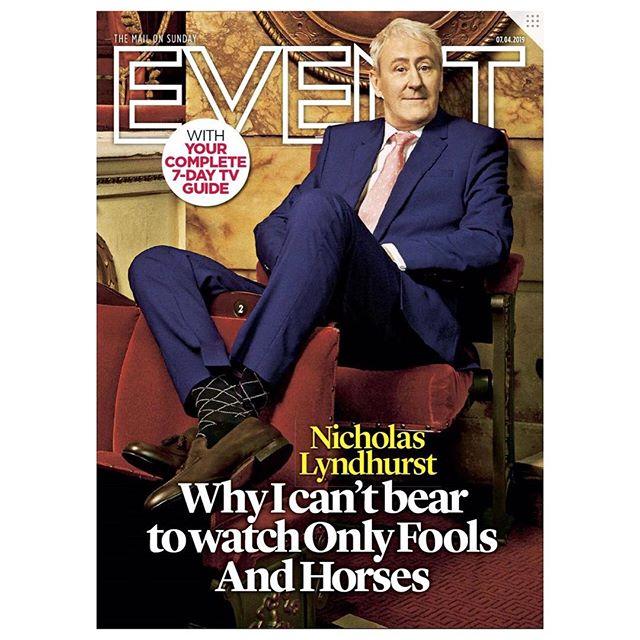 Nicholas Lyndhurst wears @shopoliverbrown & @fairfaxandfavor on the cover of @eventmagazine 📺 | Via @dailymail | #oliverbrown #fairfaxandfavor