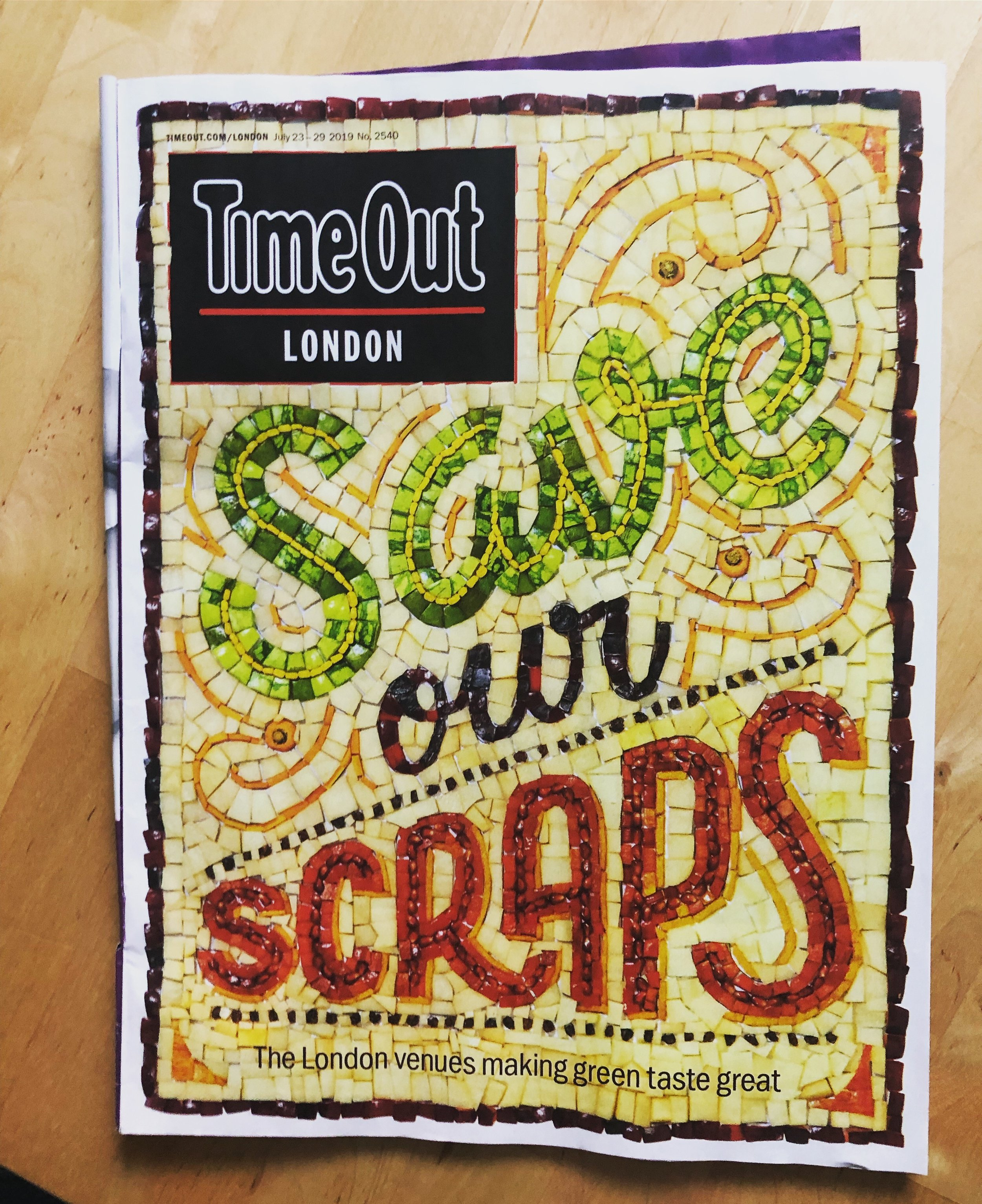 Time Out Cover 23rd-29th July 2019