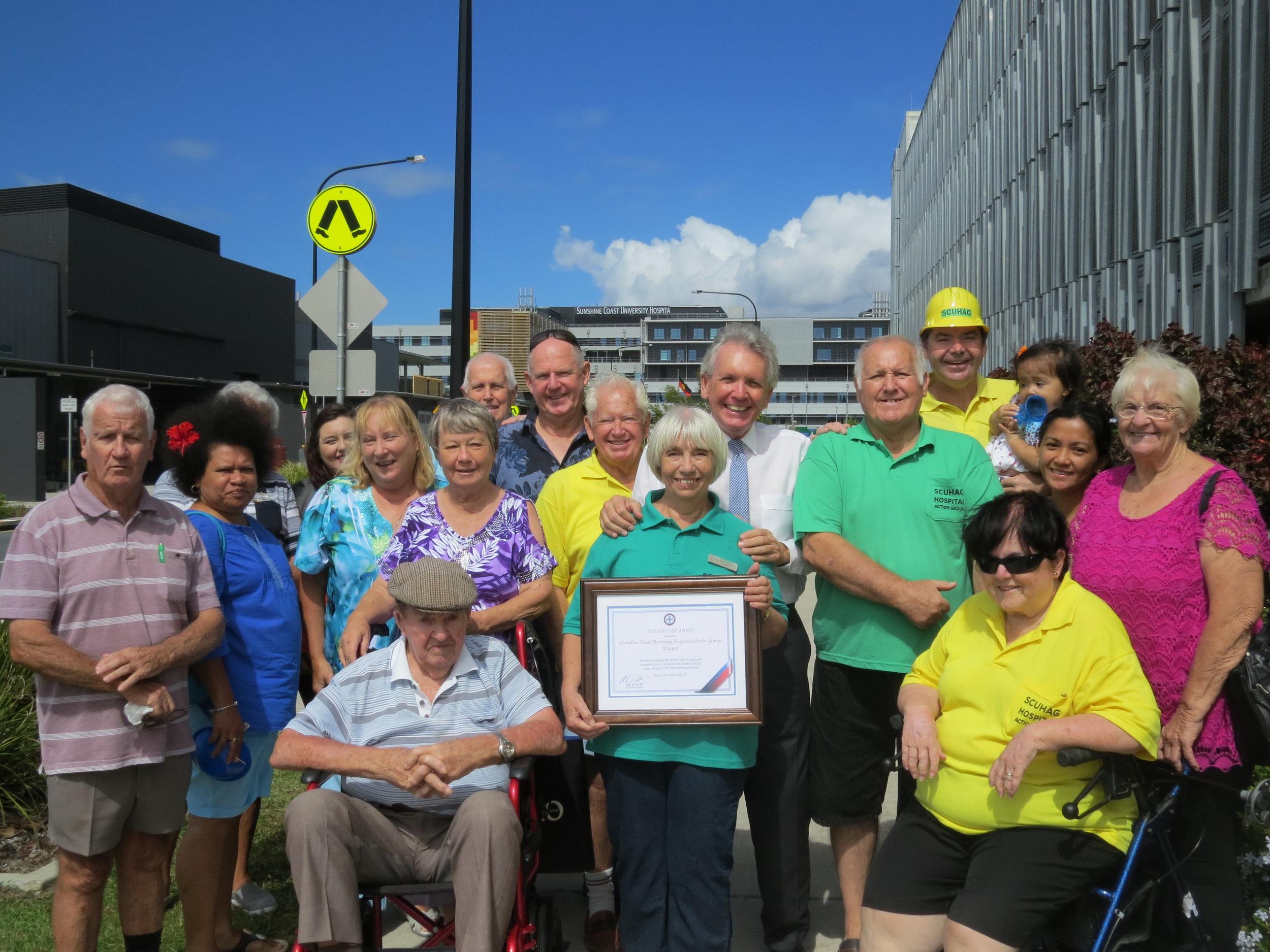 Sunshine Coast University Hospital Action Group (SCUHAG)
