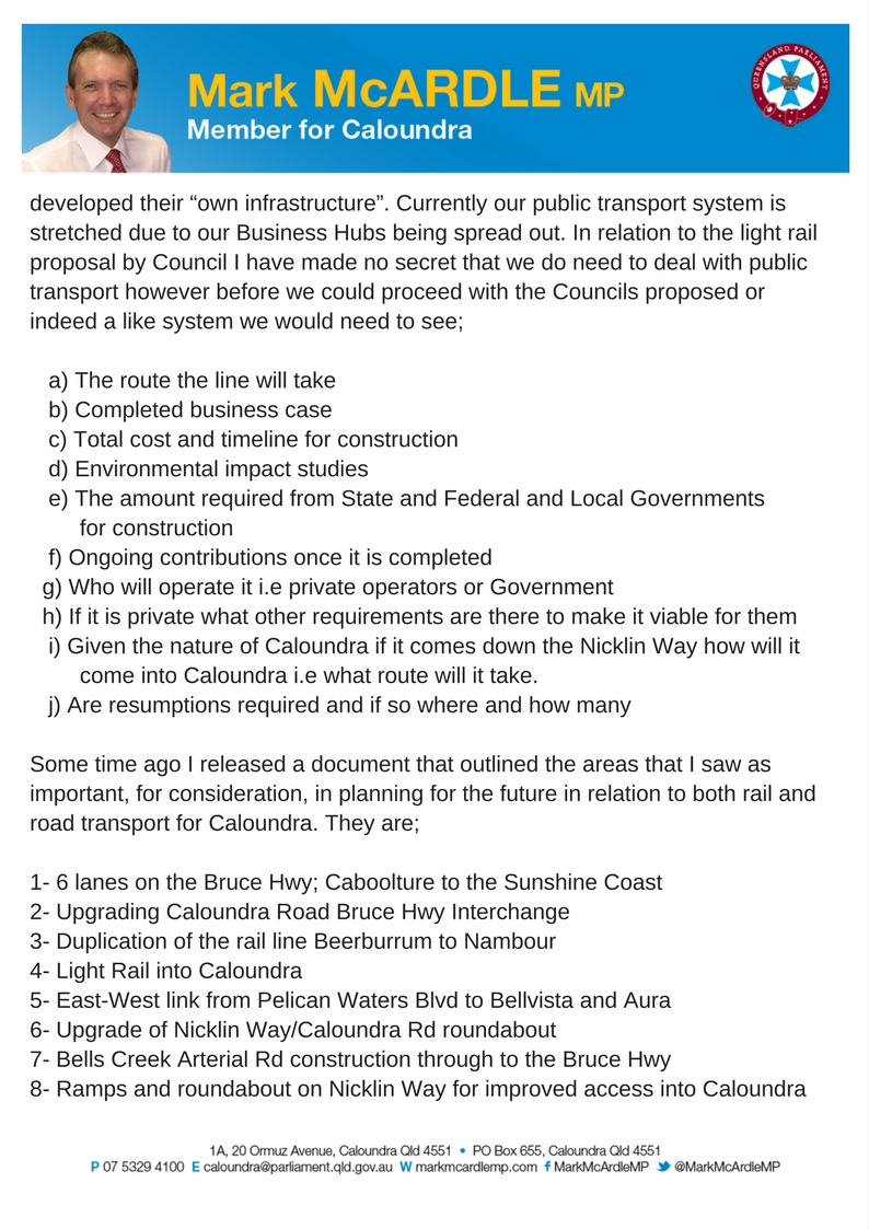 Letter to Chamber of Commerce re_ infrastructure required in Caloundra_Page 3.jpg