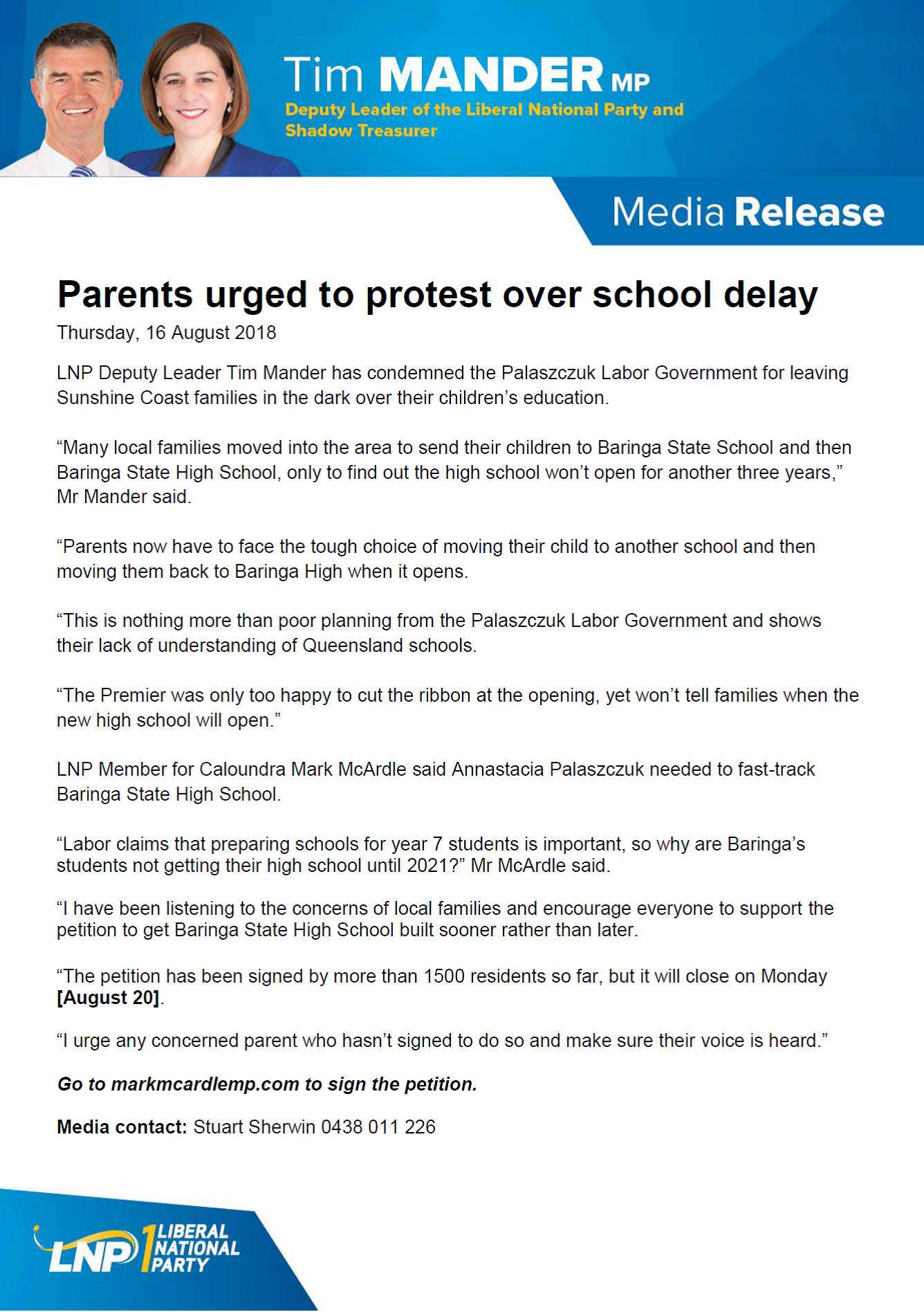 Baringa Petition Release.png