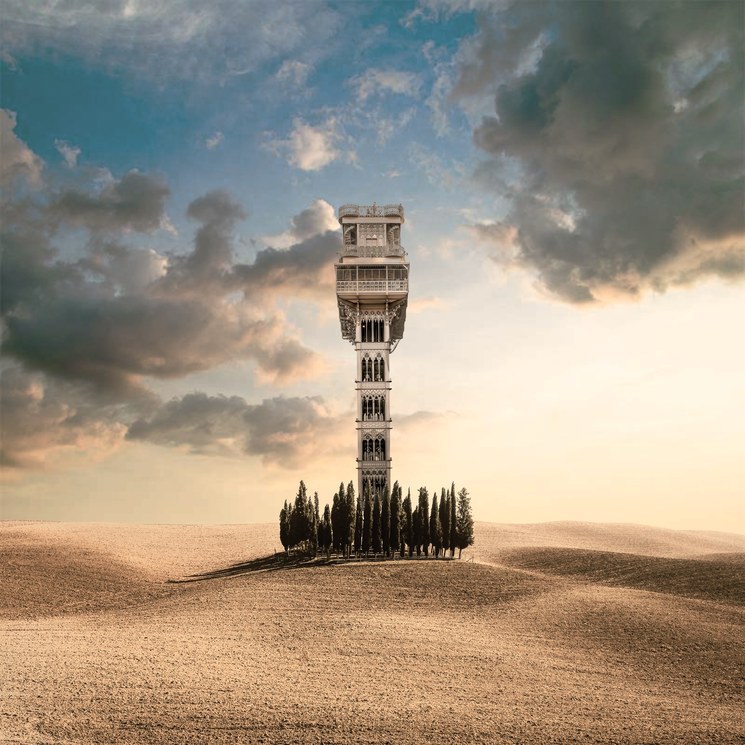 They Built An Elevator To The Sky