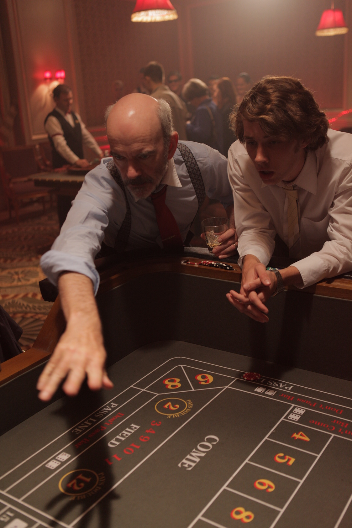 Bernard and Greg play Craps-Portrait.JPG