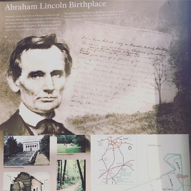 Somewhere in Kentucky. #abrahamlincolnsbirthplace