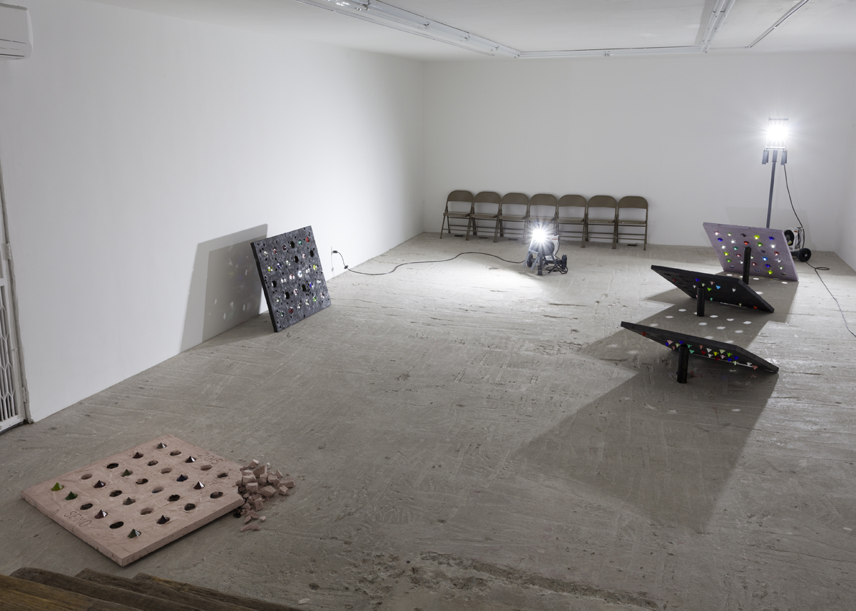 Davina Semo     WHERE LIFE IS HAPPENING   Installation View at Lyles & King