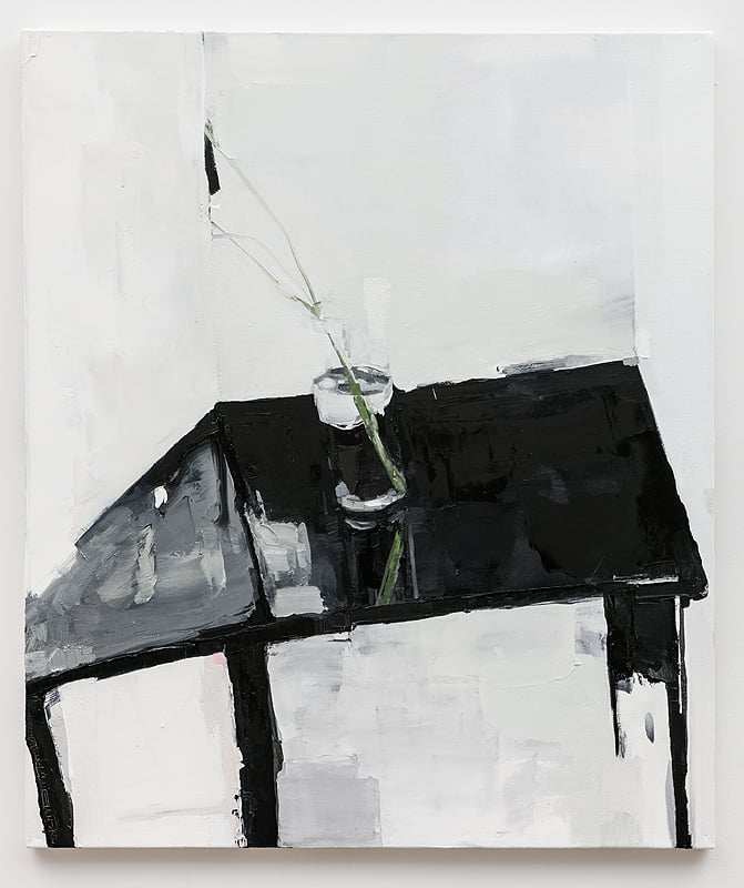 Dana DeGiulio    Fresh Hell , 2015  Oil on canvas  33 x 28 inches