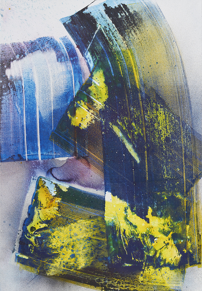 Max Frintrop    Animal Style , 2016  Pigments, ink, acrylic on canvas  260 x 180 cm  102.3 x 70.8 inches