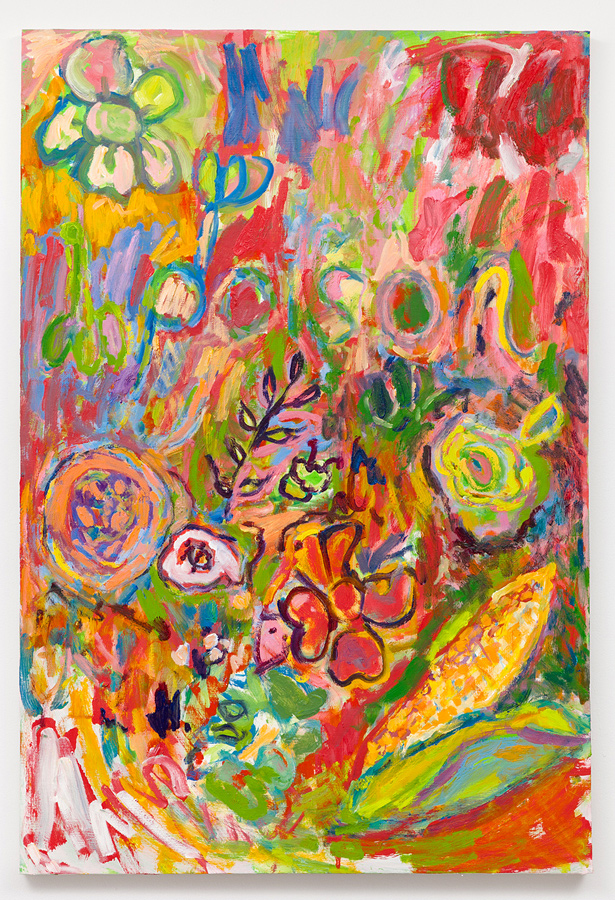 Adrianne Rubenstein    Love Sick , 2016  Oil on panel  34 x 23 inches