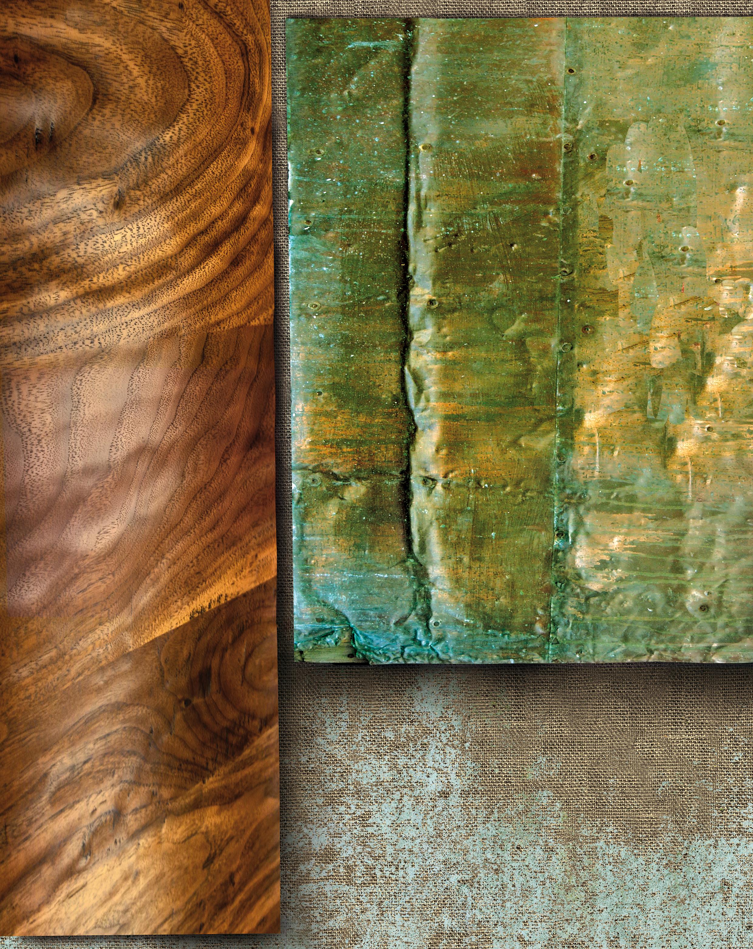 Markus Selg    Venus (Cu 29) , 2015  Sublimation print on canvas  84.125 x 65.5 inches