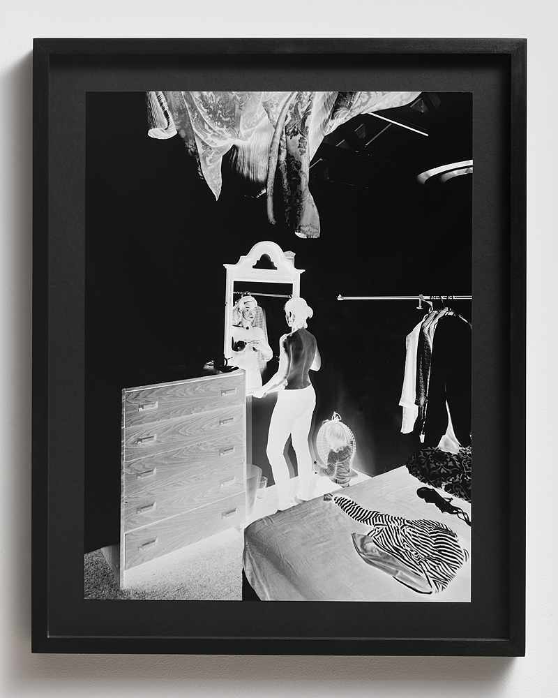 Aneta Grzeszykowska   Negative Book #70 , 2012/2013  Pigment ink on cotton paper  50 x 38 cm  19.68 x 14.96 inches  Edition 1 of 7 + 2 A.P.