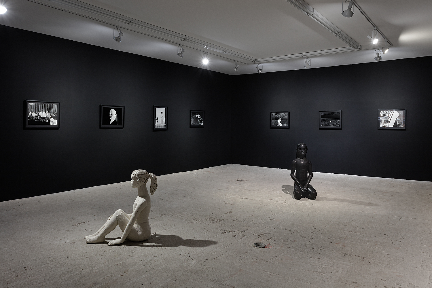 Installation view at Lyles & King
