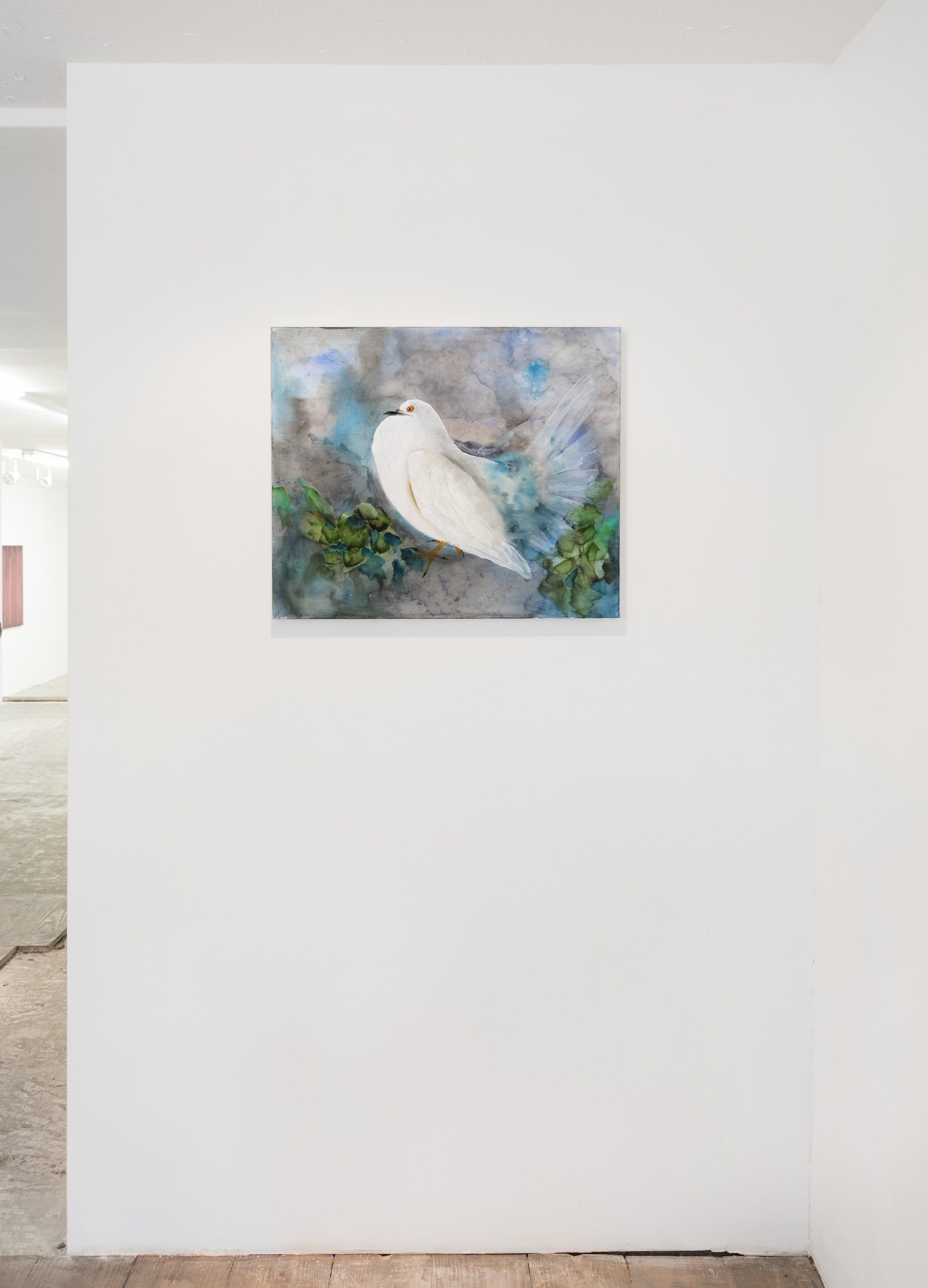 Autumn Ramsey   Fat Dove , 2016  Installation view