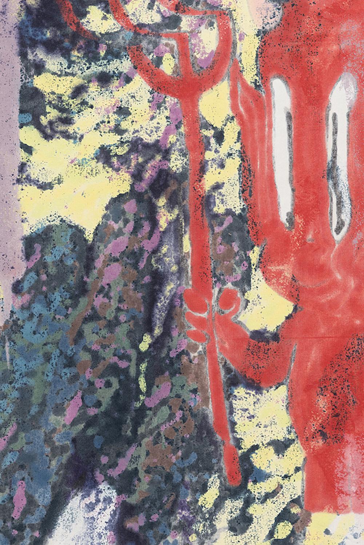 Chris Hood   Devil's Melt , 2016  Detail view