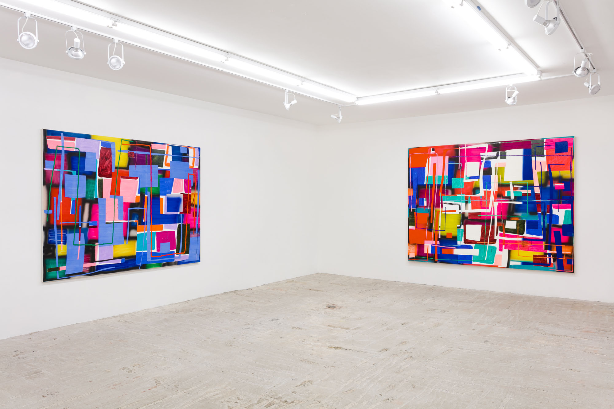 Trudy Benson   Closer Than They Appear   August 30 - October 7, 2018  Installation view