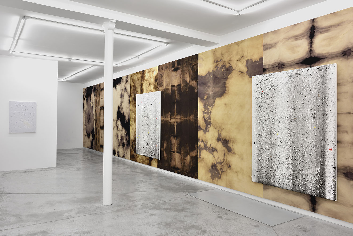 Thomas Fougeirol   OP'S   Installation view at Praz-Delavallade  Paris, FR  February 13 - March 26, 2016