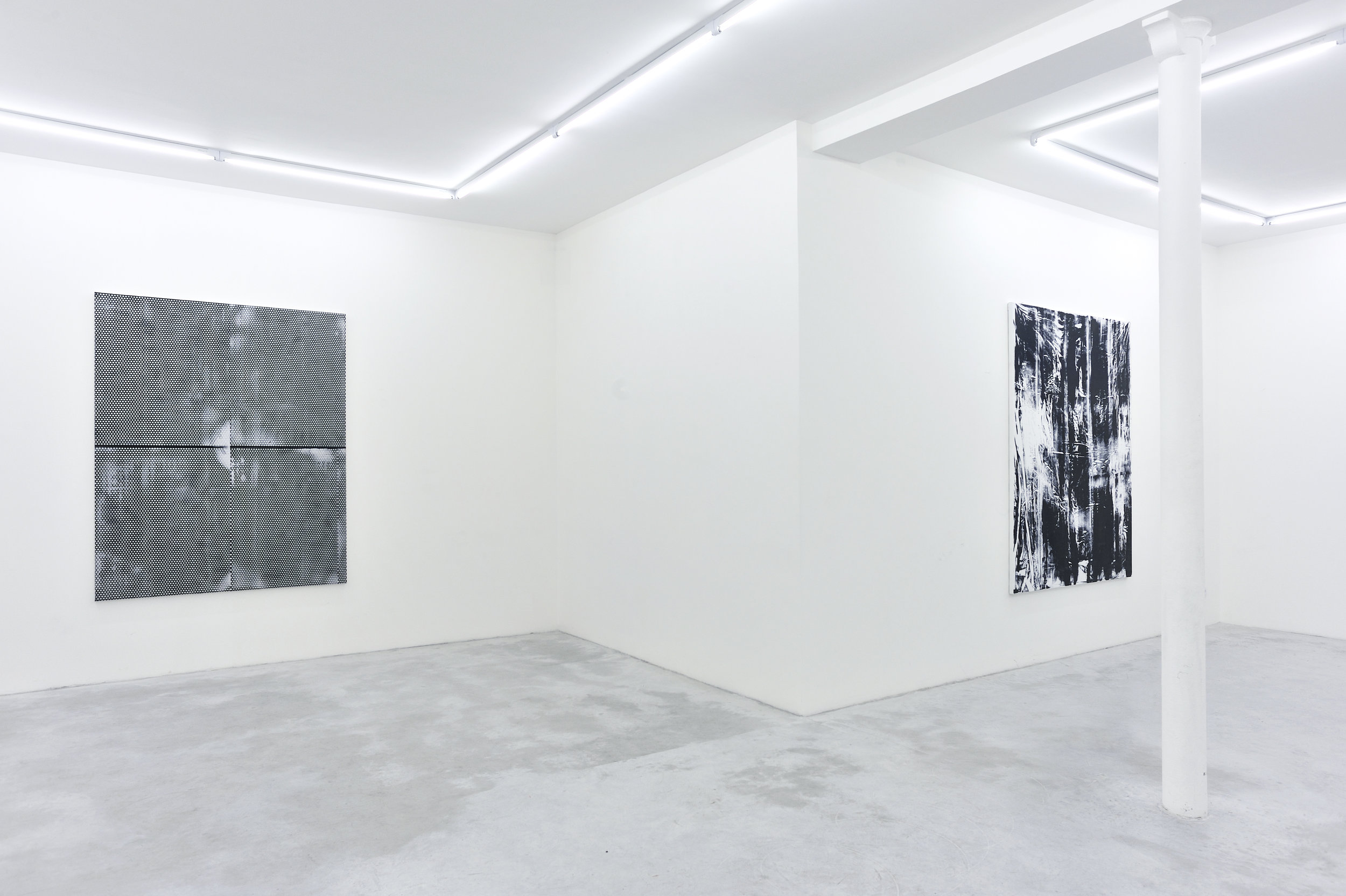 Thomas Fougeirol   Black Sun   Installation view at Praz-Delavallade  Paris, FR  April 2 - May 7, 2011