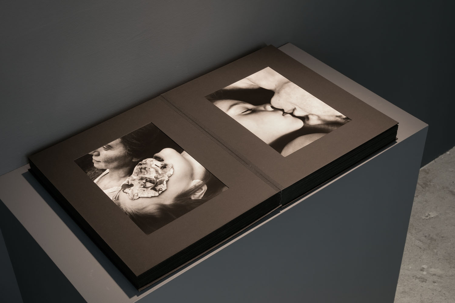 Aneta Grzeszykowska   Mama , 2018  50 photographs in paper album, cloth binding  17.52 x 13.58 x 3.74 inches  Edition of 5 + I A.P.