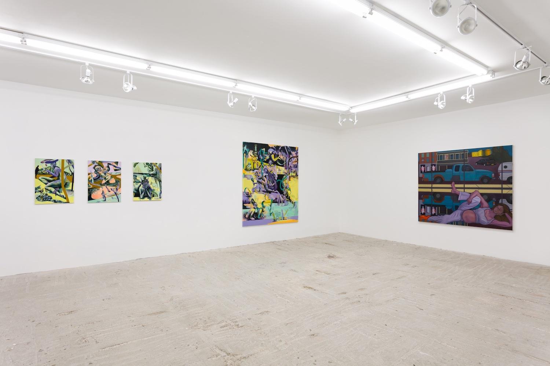 Jessie Makinson & Stuart Lorimer, Installation view at Lyles & King, November 28, 2018 - January 13, 2019