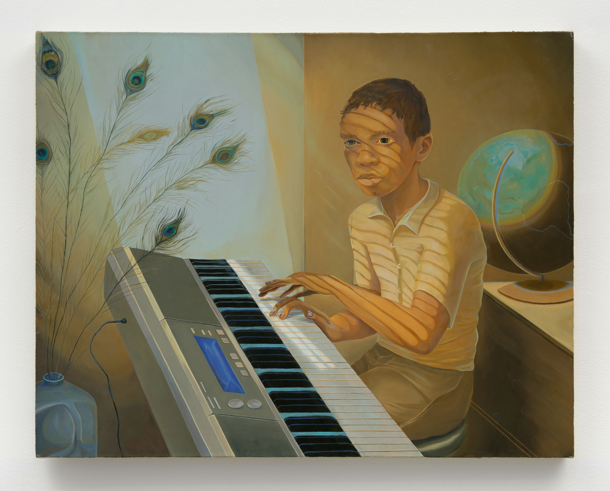 Aaron Gilbert    Judah , 2012-2013  Oil on canvas  24 x 30 inches