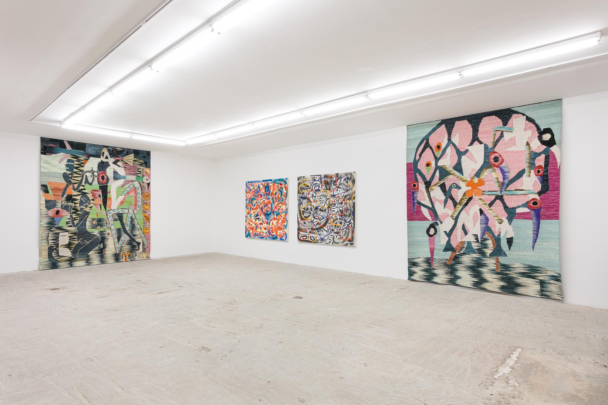 Trudy Benson and Yann Gerstberger,  TT52,  Installation View   at Lyles & King, June 8 - July 28, 2017