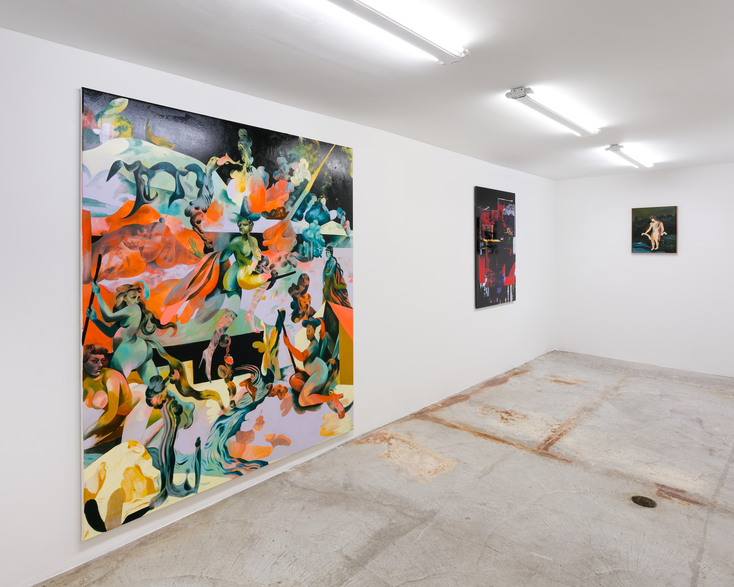 Jessie Makinson,  Dead Eden,  Installation view at Lyles & King, June 6 - August 3, 2018
