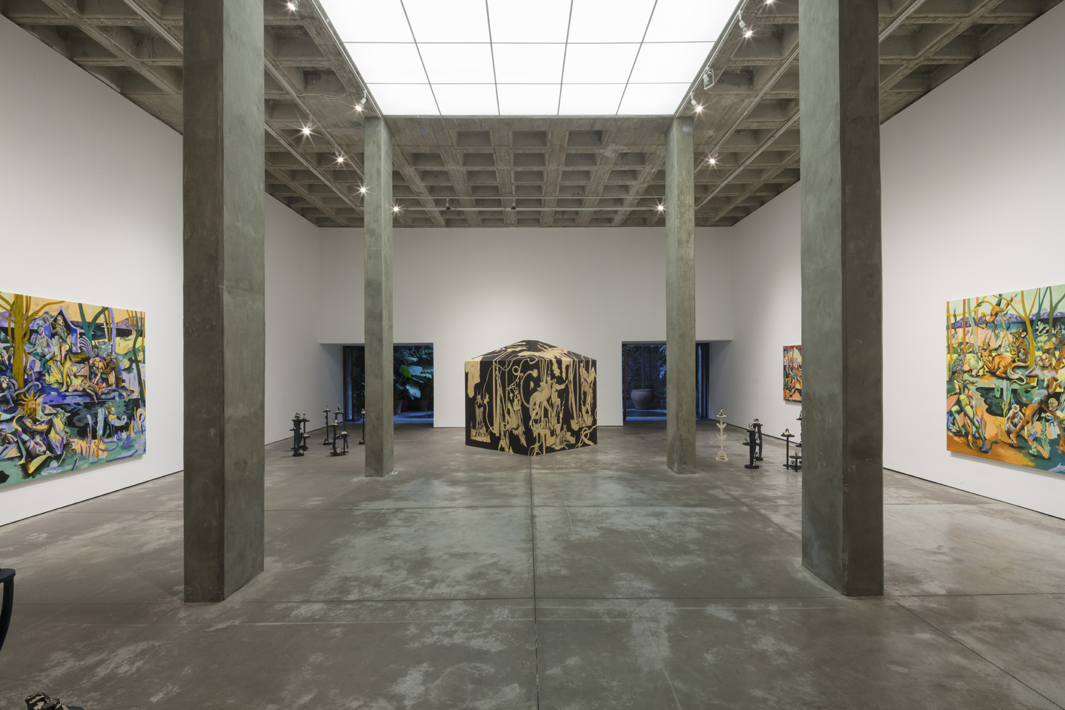 Jessie Makinson,  Tender Trick , Installation view at Galería OMR, Mexico City, MX, June 20 - August 17, 2019
