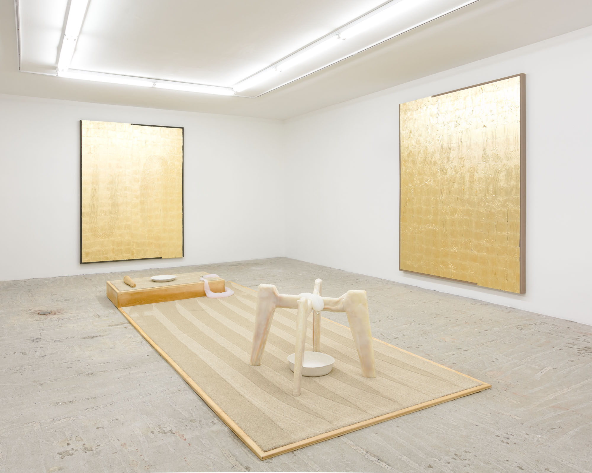 Erica Mahinay   Just Let the Breath Breathe Itself , 2019  Installation View at Lyles & King
