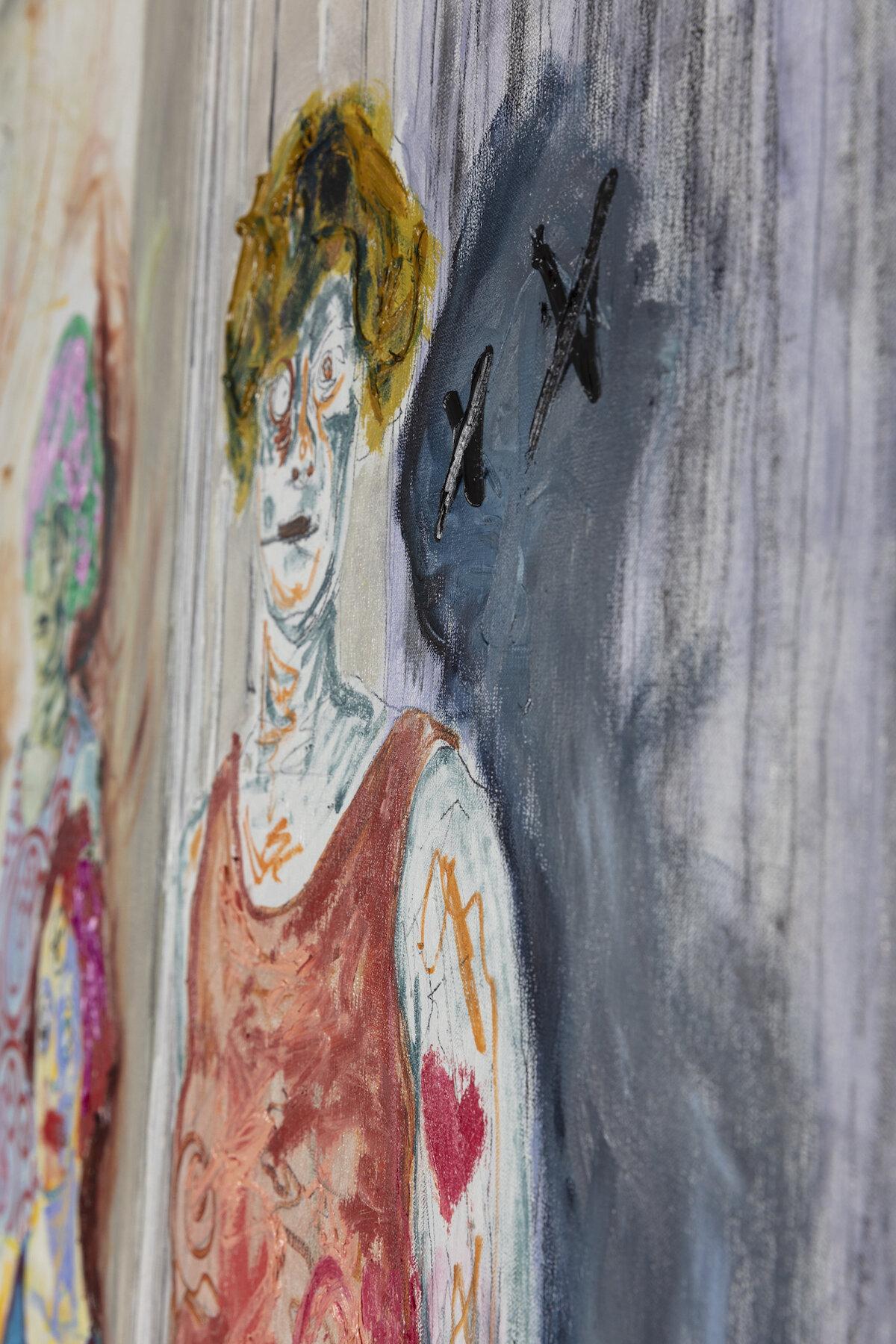 Farley Aguilar   The Women , 2018 (detail view)