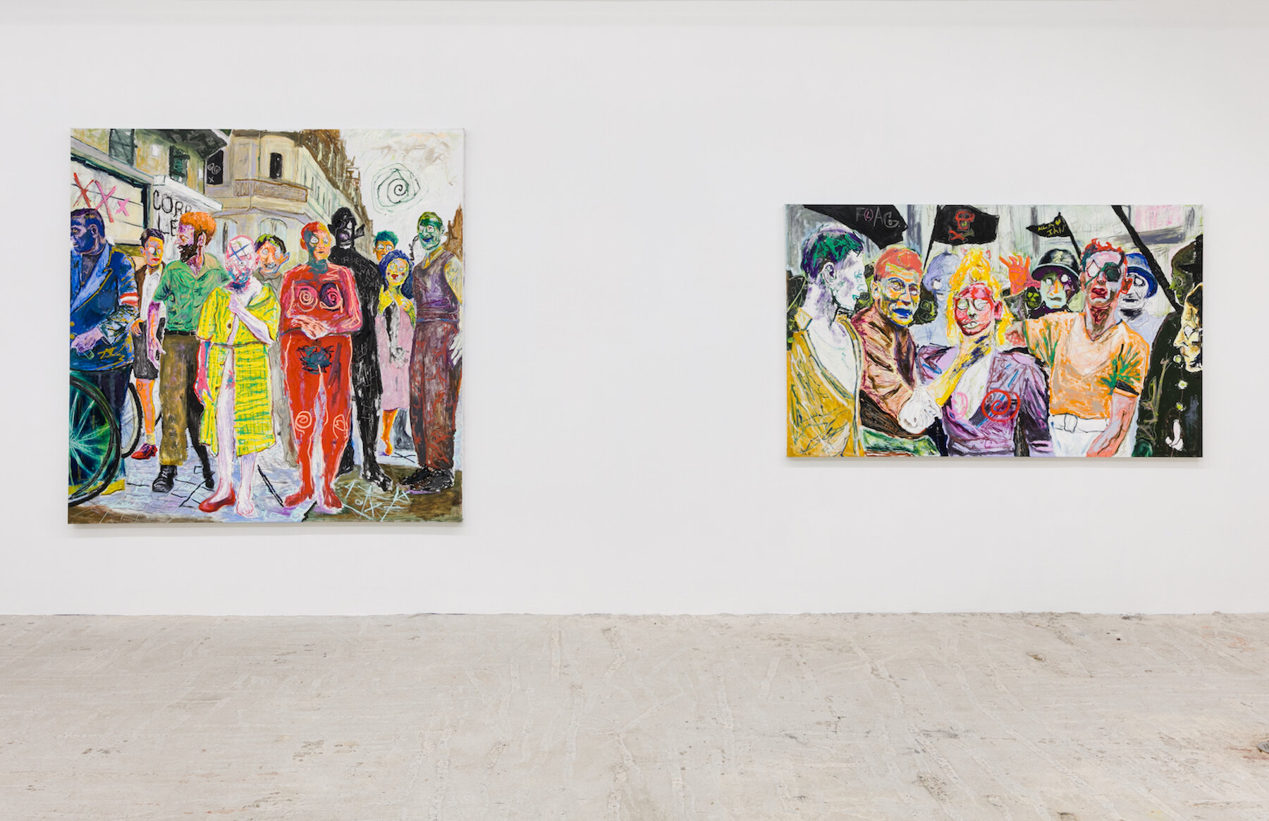 Farley Aguilar,  Cleansing,  Installation view at Lyles & King, January 18 - February 24, 2019