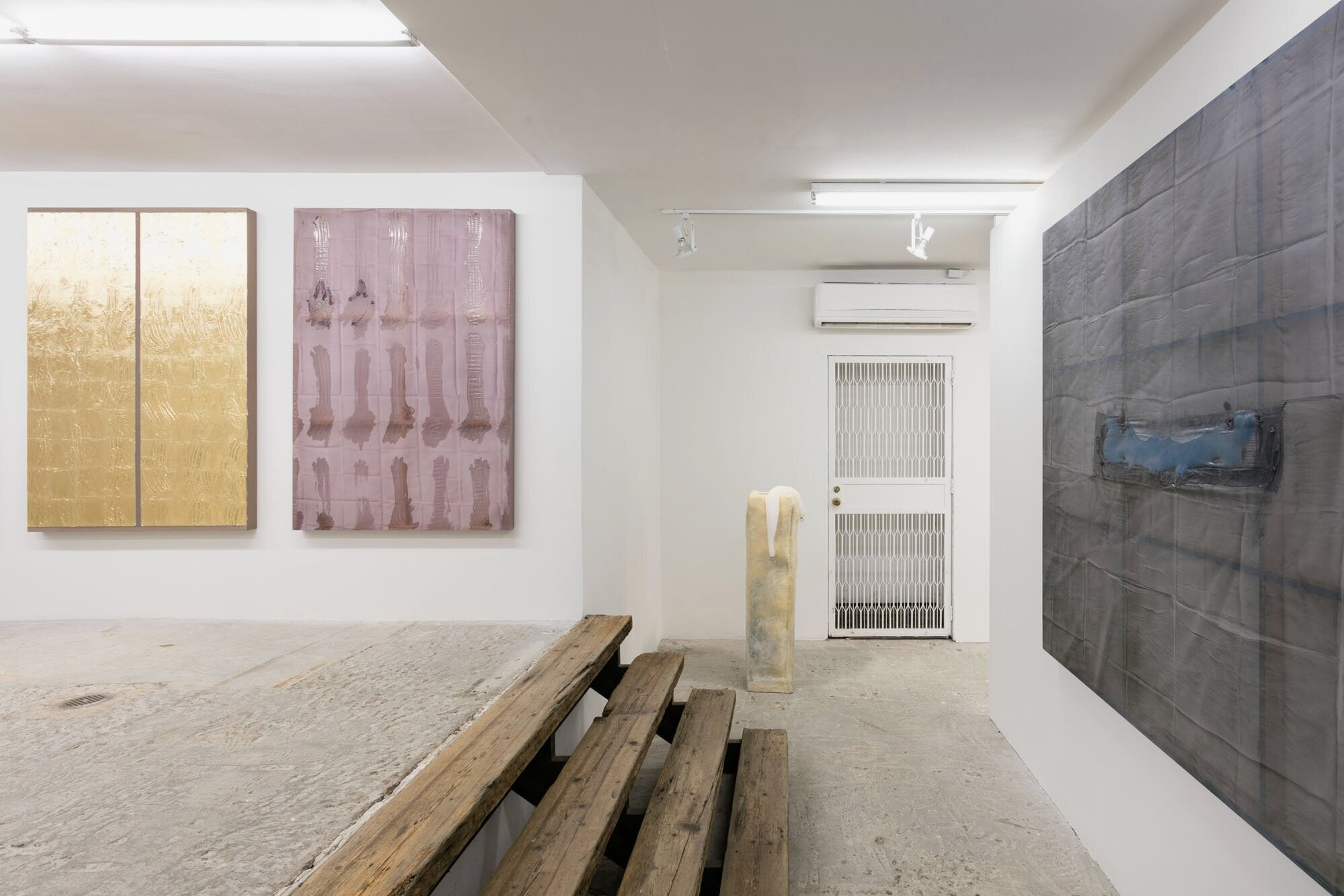 Erica Mahinay   Let the Breath Breathe Itself , 2019  Installation View at Lyles & King