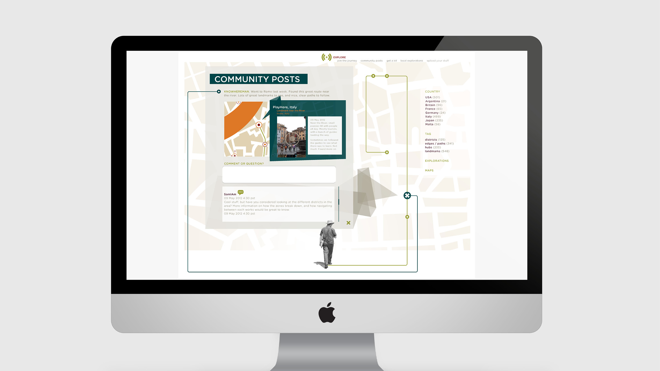 knowhere  online community screen