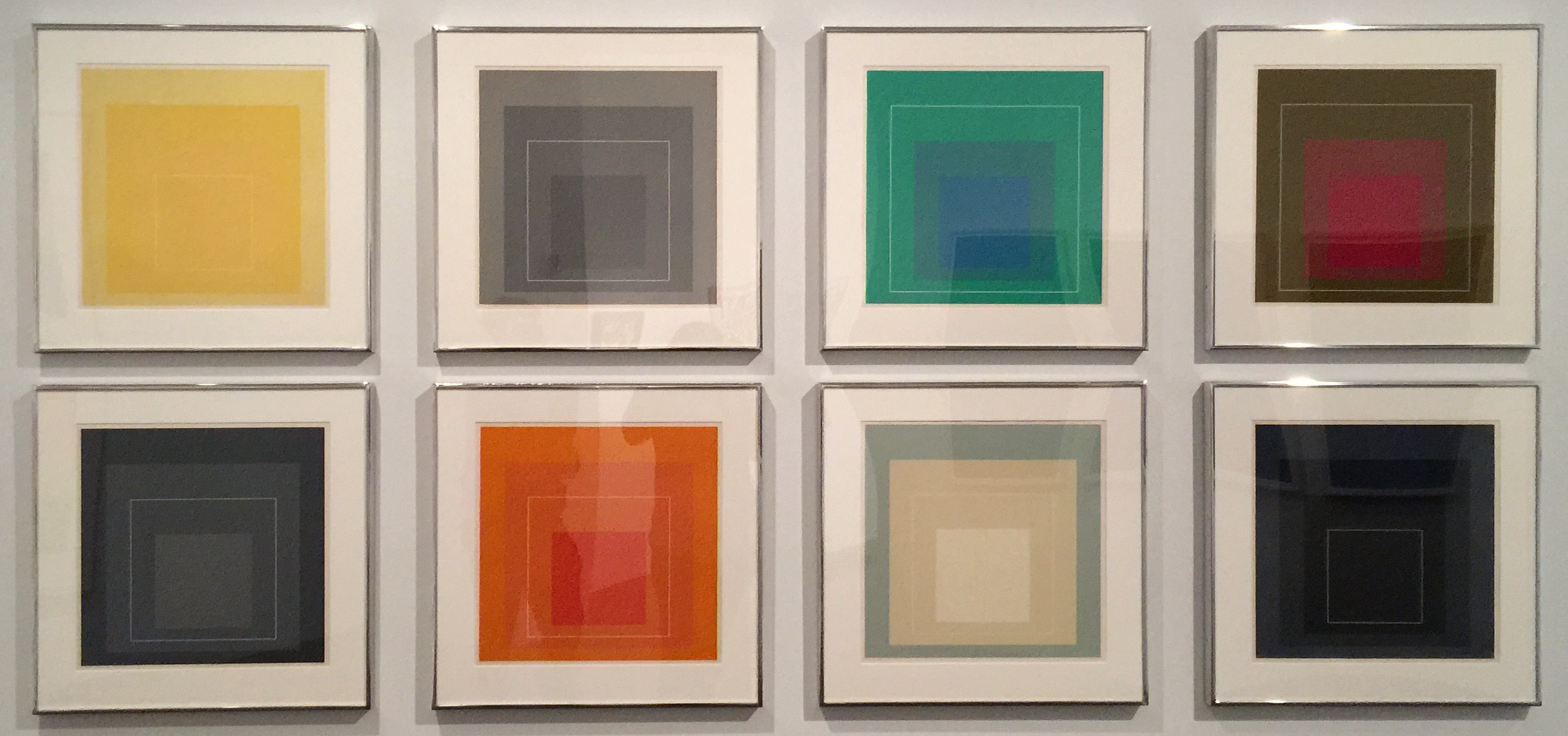Color Studies by Josef Albers. I imagine the man envisioned a relatively colorful future.